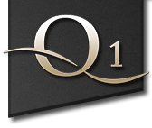 Q1 |  Quality first. Logo